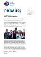 Youth Changemaker City - Preisträger im März 2014