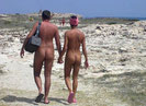 This is how we should all dress when we head to our clothing optional beaches