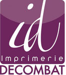 logo de l'imprimerie Decombat