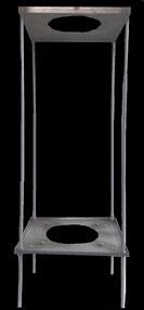 Estructura para tubo de campana