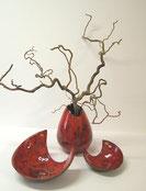 Keramik, Schalen, Vasen, Blumen, Keramikobjekte