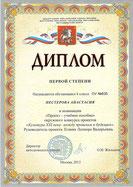 Окружной конкурс проектов по МХК (февраль 2013 г.)