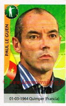 N° 273 - Paul LE GUEN (1991-98, PSG > Janv 07-2009, Entraîneur PSG > 2010, Entraîneur Cameroun)