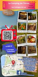 Brochure Pub Camping Gers Arros 2017 Location Vacances Famille