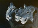 SCHWESTERN Acryl / Lwd. 60 x 80 cm