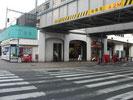 JR高田馬場駅早稲田口