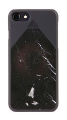 TERRA7 iPhone 7 Marmor Hülle Case schwarz