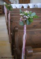 Hochzeit Kirchenschmuck Trauung
