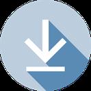 """Button """"Interner Datei-Download Flyer Wohngemeinschaft ANDOH AG"""""""