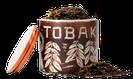 Schwarzer Tabak, Schwarzer Krauser als Aroma zum selbst mischen, herb schmeckender tabak als aroma