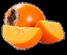 Kaki, kakiaroma, tropisches Fruchtaroma, Exotisches Aroma
