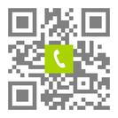 Telefonnummer der Zahnarztpraxis Dres. Andreas und Winfried Hommens in Musterstadt: Einfach scannen und anrufen!