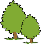 zwei Bäume als Symbolbild