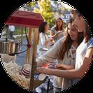 Popcornmaschine buchen für Events