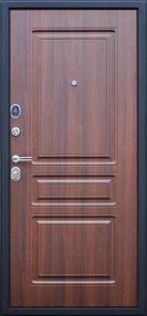 входная дверь фортуна, поперечный венге