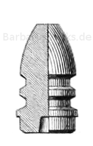 österreichisches Werndl-Geschoss M. 1867