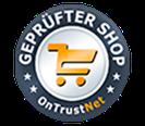 Ontrustnet Siegel für Fensterbank Online Shop