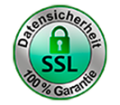 SSL Siegel für Datensicherheit im Fensterbank Online Shop