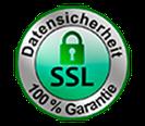 SSL Siegel für Datensicherheit  Fensterbank Shop