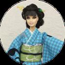 kimonoBarbie,バービー振袖