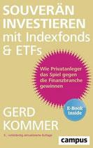 """Buchcover """"Souverän investieren mit Indexfonds und ETFs"""""""