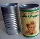 Boîtes de lait Guigoz