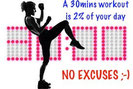 The mimimun workout