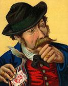 Schmalzlerfranz – Kennzeichen für die beliebteste Tabaksorte von Bernard / © Bernard Schnupftabak, Sinzing (D)