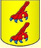 Coat of arms Bourdeille - Château de Saveilles - Saveille