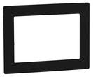 Design-Rahmen DR 801 uP (Schwarz) von Telenot; presented by SafeTech