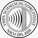 Logo der VMPA-Schallschutzprüfstellen nach DIN 4109