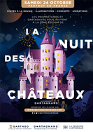 """La Nuit des Châreaux - 2020/10/24 - Charente - Chateau Saveilles - Guided tour - Tour with family"