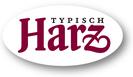Logo Harzer Gebirgsmkerei André Koppelin, Harzpanorama,  Echter Harzer Gebirgshonig
