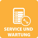 Server und Storage Service und Wartung