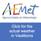 actual weather Visalibons