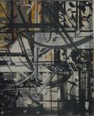 "Niklaus Erdmann, ""o.T."", 22x27cm, Acryl/Leinwand, 1999"