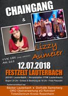 Feuerwehr FFw Chaingang Lauterbach Lizzy Aumeier Festzelt Gaufest