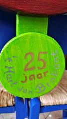 Huisje medaille jubileum