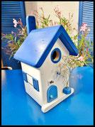 Houten nestkastjes - Griekse stijl met huisnummer
