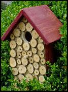 Vogelhuisje,nestkastje hout_nestkastje Hout bruin,bruin nestkastje