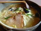 塩湯麺(炒め野菜ラーメン)