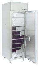 Armoires réfrigérées avec casier inox et serrures