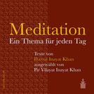 Meditation - Ein Thema für jeden Tag von Hazrat Inayat Khan und Pir Vilayat Inayat Khan