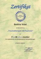 Zertifikat Traumatherapie mit Hypnose