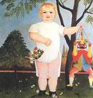 Henri ROUSSEAU L'enfant au polichinelle - art naïf