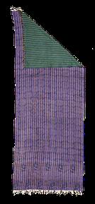 Vintage Textil, Seide aus India, Châle en soie en sari recyclé, Zurich