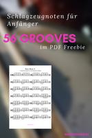 Anfänger Schlagzeugnoten Grooves PDF
