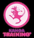 Das Logo des postnatalen Trainings Kanga-Traning
