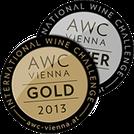 AWC Vienna 2013 prämiert
