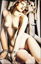 cliquez pour acceder à la galerie des nus de Tamara de Lempicka